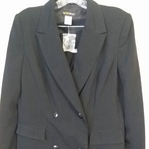 NEW Metro Style Black Pantsuit Size 10